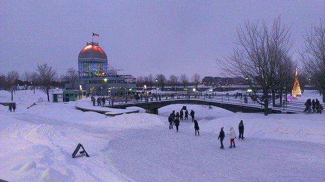 hiver au Canada